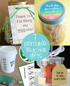 End of the Year Teacher Gift Ideas | creative gift ideas