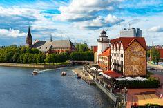 Kaliningrado - Kaliningrado, la antigua Königsberg prusiana, es una ciudad portuaria de Europa Oriental perteneciente a Rusia tras su ocupación en 1945 y situada en un exclave en la desembocadura del río Pregel