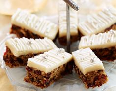 Christmas Cake Tray Bake | Dessert Recipes | Woman&home