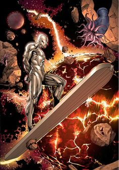 Silver Surfer by Harvey Tolibao