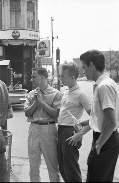 Hangin' out ca. 1959/ Mid-Century fashion, Chicago, IL.