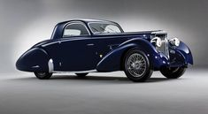 1938 SS Jaguar 100 3 1/2 Liter Coupe, Body by Graber