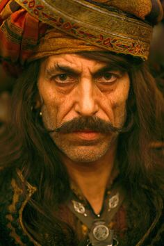 Ottoman pirate captain Ammand from Pirates of the Caribbean - At World's End