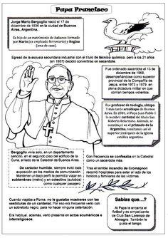 EDUCACIÓN RELIGIOSA: BIOGRAFÍA PAPA FRANCISCO PARA NIÑOS