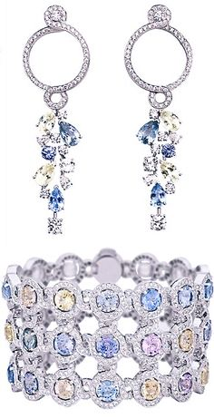 JOSIE & MATT'S ENCHANTMENT Wedding - Josie's Jewelry From the Chanel Lookbook 2014