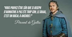 Funny Quotes : Top 20 des meilleures répliques de Perceval, le chevalier le plus classe de Kaamelott - The Love Quotes Animé Romance, Hero Corp, Boxing Quotes, Daily Inspiration Quotes, Smart People, Laugh Out Loud, Tv Series, Funny Jokes, Tv Shows