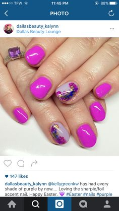 Gorgeous Nails, Love Nails, How To Do Nails, My Nails, Dream Nails, Shellac Nails, Nail Manicure, Nail Polish, Acryl Nails
