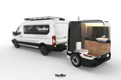 Portable luxury bathroom trailer: what you need to know about the Vanlifer Towable Bathroom - Portable luxury bathroom trailer: what you need to know about the Vanl – vanlifer - Small Camper Trailers, T3 Camper, Cargo Trailer Camper, Camper Van Life, Small Campers, Cool Campers, Small Camper Vans, Transit Camper, Rv Trailers