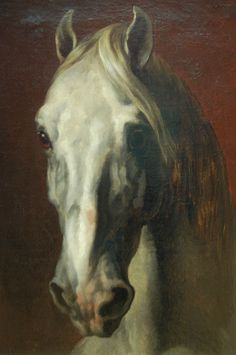 Horse painting in Louvre