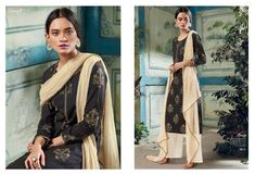 Black Long cotton coil foil print with #Embroidery and #handwork,Bottom cotton foil #print material, Dupatta #Bemberg chiffon printed with #Zari lace border.#unstiched Indian Salwar Kameez #gowns(customize) #IndianKurtis #sarees(Customize) #SareeBlouse(Customize #LehengaCholi(Customize) #BridalWear(Customize) For Order Call or WhatsApp :- +91 93245 09951