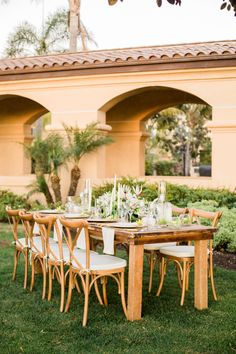 Havana Nights tablescapes are the perfect fit for our outdoor reception space here. Escape to our Carlsbad getaway to turn your dream wedding into a reality. Photo by Sweet Blooms Photography. #carlsbadwedding #havananights #havananightswedding #outdoorwedding #styledshoot #sandiegowedding #outdoorreception #hgiweddings #havana