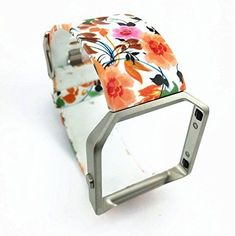 Tropical Garden Large Replacement Wristband Band Strap Bracelet for Fitbit Blaze | eBay