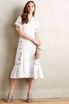 Sunlace Shirtdress - anthropologie.com