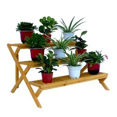 Shop Leisure Season  PS6133 Wooden 3-Tier Step Plant Stand at Lowe's Canada. Find our selection of planters & window boxes at the lowest price guaranteed with price match + 10% off.