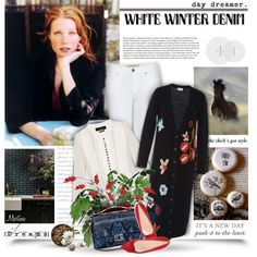 A fashion look from January 2016 by thewondersoffashion featuring RED Valentino, Isabel Marant, Burberry, Rupert Sanderson e Fendi