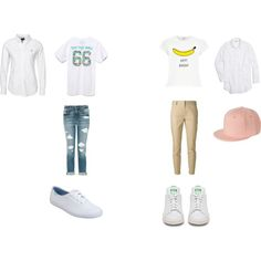 Seventeen Adore U by daebakattitude on Polyvore featuring polyvore fashion style Vans River Island Madewell Joe's Jeans Burberry Keds Monki
