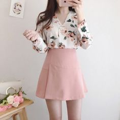 Trendy ideas for casual teen fashion 193 Casual Teen Fashion, Korean Girl Fashion, Korean Fashion Trends, Ulzzang Fashion, Korean Street Fashion, Asian Fashion, Kawaii Fashion, Cute Fashion, Look Fashion