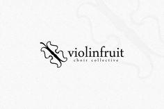 Violin Fruit Logo by EmilGuseinov on Creative Market