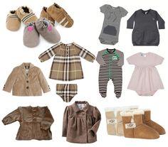 Baby Fashion trends voor het najaar
