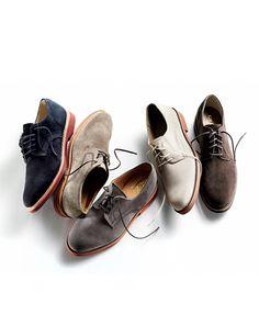 """La buck e La Saddle Shoes """"stile preppy"""" Gq, Saddle Shoes, Shoe Boots, Men Dress, Dress Shoes, Modern Hepburn, Fashion Shoes, Mens Fashion, Well Dressed Men"""