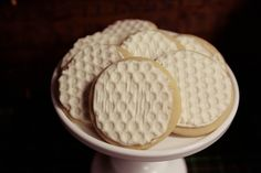 golf cookies - using bubble wrap impression?