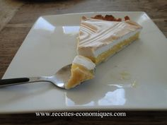 tarte citron thermomix2 Meringues Thermomix, Dessert Thermomix, Tupperware, Flan, Cheesecake, Cookies, Brioche, Sweet Recipes, Cooker Recipes
