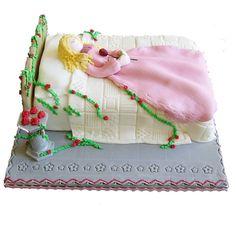 Debbie Brown's Enchanted Cakes for Children Book - Sleeping Beauty Cake Sleeping Beauty Cake, Cake Decorating Books, Debbie Brown, Disney Movie Characters, Character Cakes, Disney Cakes, Cool Birthday Cakes, Take The Cake, Princess Cakes