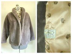 Vintage 1960s Faux Fur Jacket by rileybella123 on Etsy, $44.00