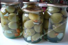 Маринованные зеленые помидоры пошаговый рецепт с фото