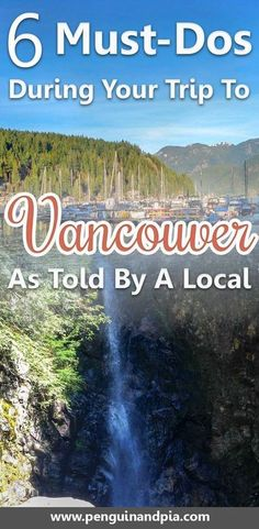 There are so many things to do in Vancouver Canada. A local gives you 6 Insider-Tips for your next trip to Vancouver including beaches photography spots and incredible hikes in North Vancouver. Vancouver Vacation, Visit Vancouver, Vancouver Travel, Vancouver Island, North Vancouver, Vancouver Things To Do, Vancouver Winter, Vancouver Restaurants, Tonga