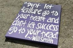 Will Smith Quote on 11x14 Canvas by HandyQuotes on Etsy