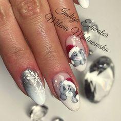 @pelikh_ by Milena Malinowska Indigo Educator Warszawa #silver #teddy#christmas