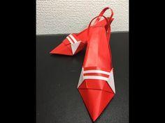 Dollar Bill Origami High Heel Shoes
