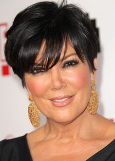 Kris Jenner style  Want my hair like this, so classy