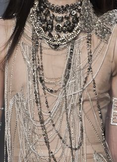 Jean Paul Gaultier clothing details.....
