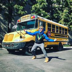 I bought a school bus... yup 😂 I woke up one day and said