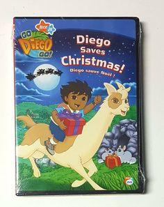 Go Diego Go! Diego Saves Christmas  DVD NEW - 2006 - English & French   eBay