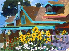 Charles Sovek, Artist and Author | Oldies But Goodies - Gouache Paintings