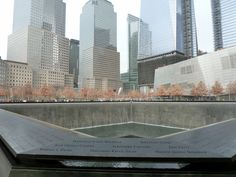 What an incredible tribute of remembrance and honor to the people killed in the terror attacks of September 11, 2001 at the World Trade Centre site. The memorial has twin reflecting pools featuring cascading manmade waterfalls with the names of every person who died inscribed into bronze panels. Read my New York review here http://thatideasgirl.com/travel/idea-28-new-york