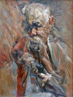 Luigi Varoli/Ritratto di Battista Varoli/s.d./olio su tavola, cm 63x48/Lugo collezione privata
