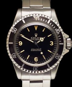 1963 -Extremely Rare Submariner with Pointed Crown Guards and Explorer Dial, ref 5513.