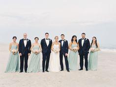 Seaside wedding in the Hamptons: http://www.stylemepretty.com/2014/08/11/seaside-wedding-in-the-hamptons/ | Photography: http://carmensantorellistudio.com/