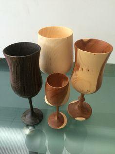 Turned goblets