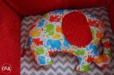 SŁONIK poduszka Minky słoń DUŻO KOLORÓW Żory - image 1