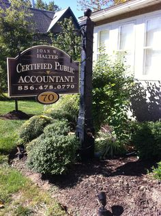 Joan W. Halter, CPA winner best accountant in Gloucester county NJ 2013 70 North Main Street Mullica Hill, New Jersey 08062 Mullica Hill, Chamber Of Commerce, Gloucester, Main Street, Accounting, Maine, Business Accounting