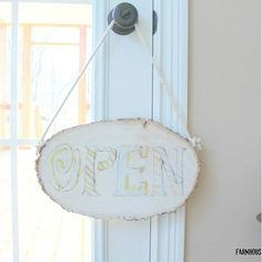Another amazing #createandsharechallenge project! This sign was made by @farmhouse40. We love the whitewashed look of this one.