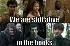 and this is why you read the books