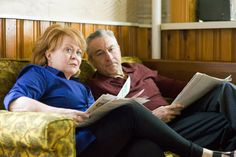 Robert De Niro and Jacki Weaver as Pat's concerned parents