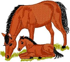 horses embroidery design – free embroidery design
