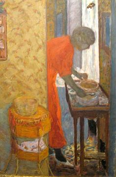 Bonnard's paintings celebrate light, color, and seeing the extraordinary in the ordinary.